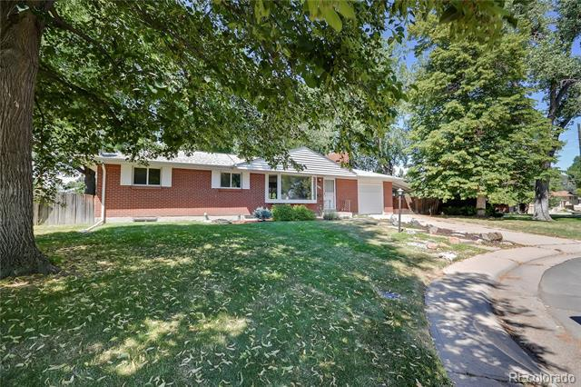 Photo of home for sale at 3215 Elmira Court South, Denver CO