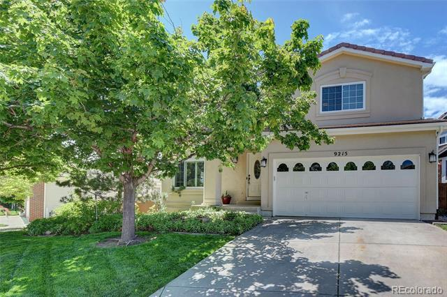 Photo of home for sale at 9215 Anasazi Indian Trail, Highlands Ranch CO