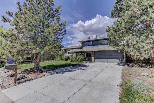 Photo of home for sale at 575 Coors Court South, Lakewood CO