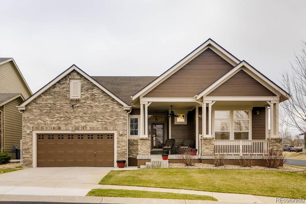 Photo of home for sale at 1498 Grand Baker Circle S, Aurora CO