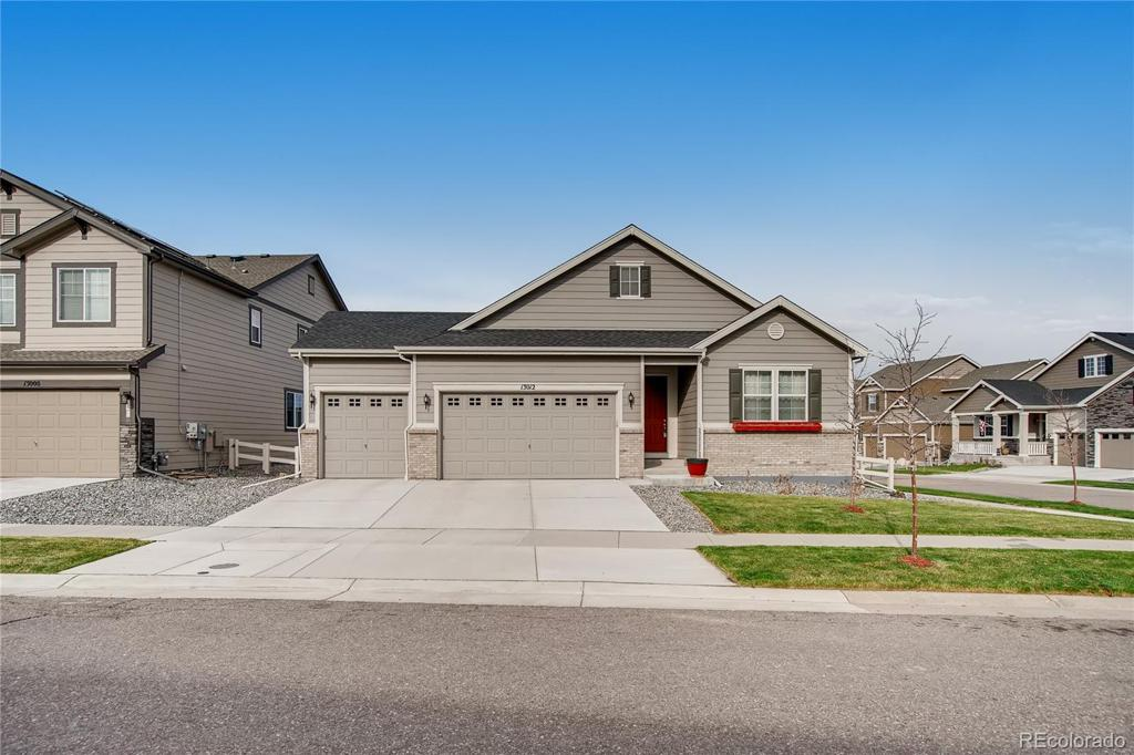 Photo of home for sale at 13012 Sibrica Street, Parker CO