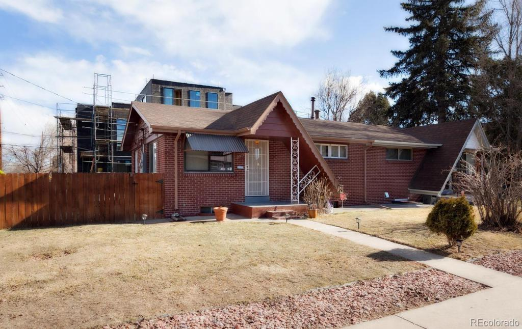 Photo of home for sale at 1398 Xavier Street, Denver CO
