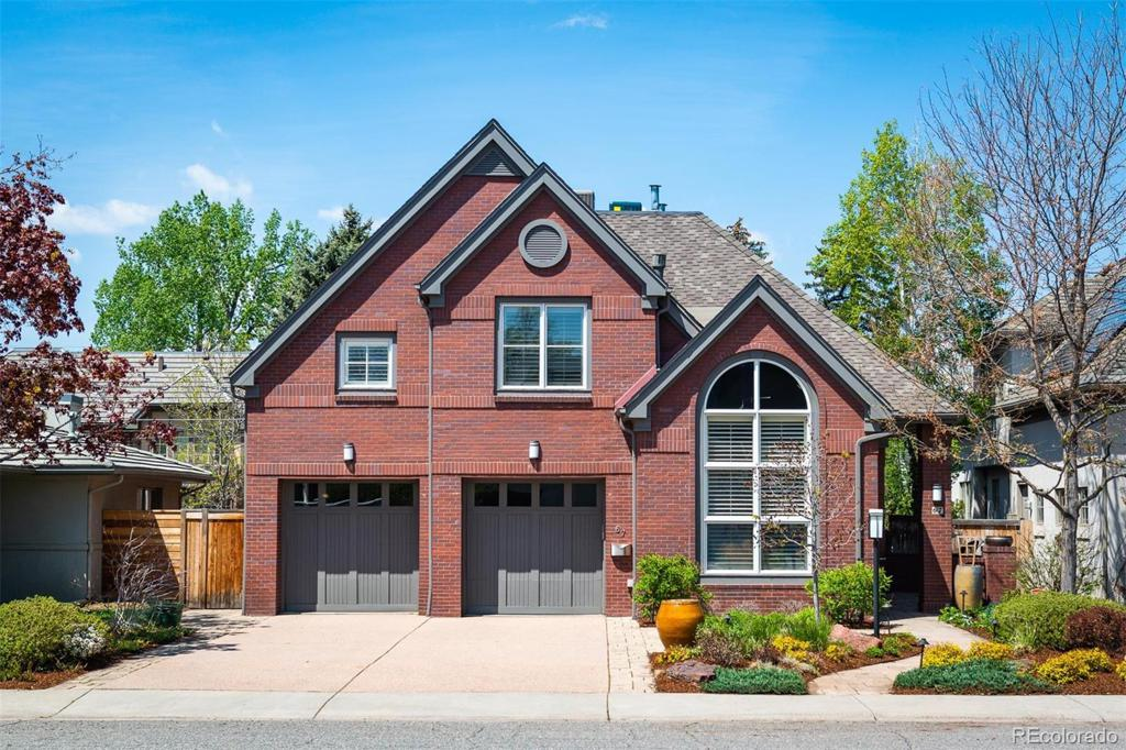 Photo of home for sale at 67 Cherry Street S, Denver CO