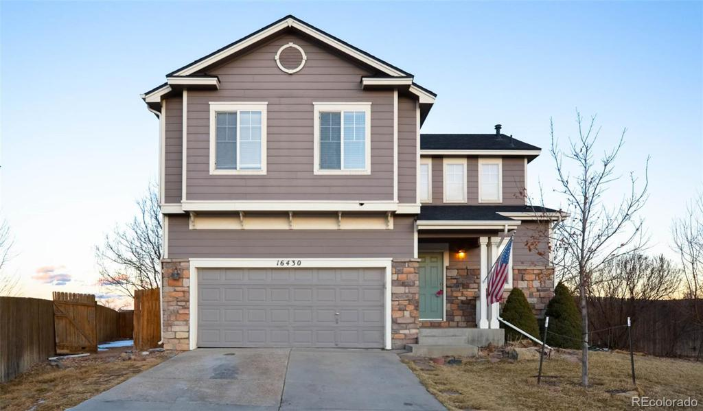 Photo of home for sale at 16430 Race Street, Thornton CO