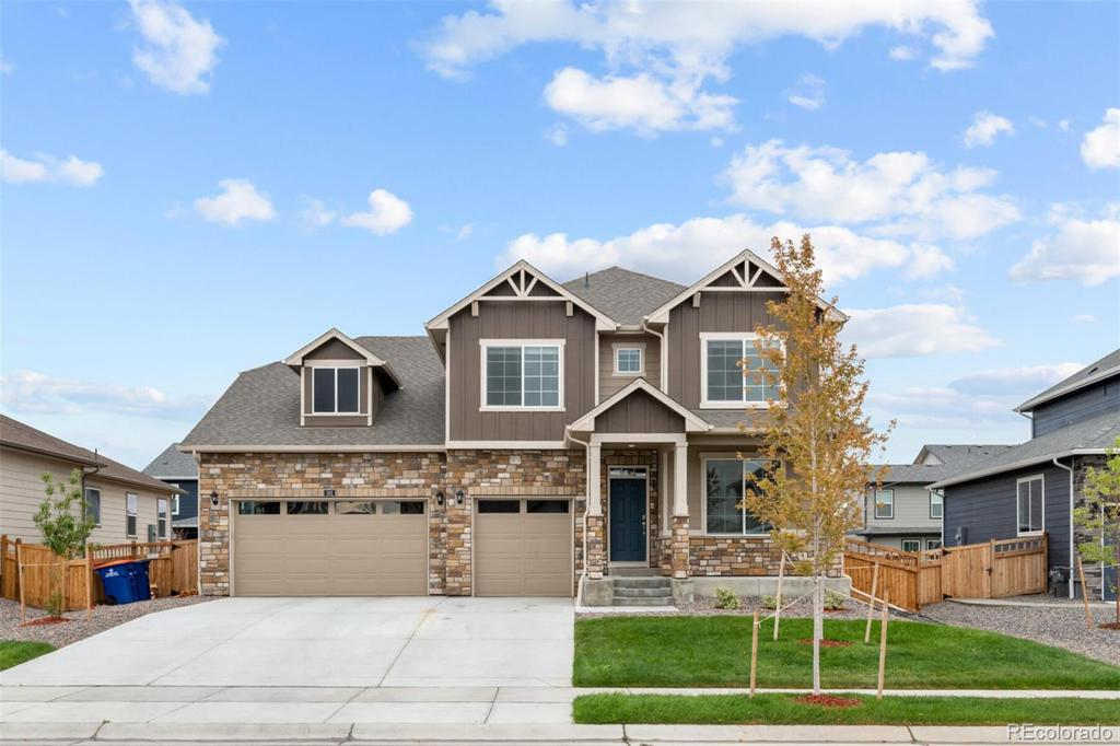 Photo of home for sale at 562 Beaver Creek Court, Brighton CO