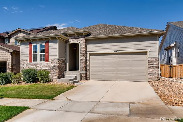 Photo of home for sale at 10912 Unity Lane, Commerce City CO
