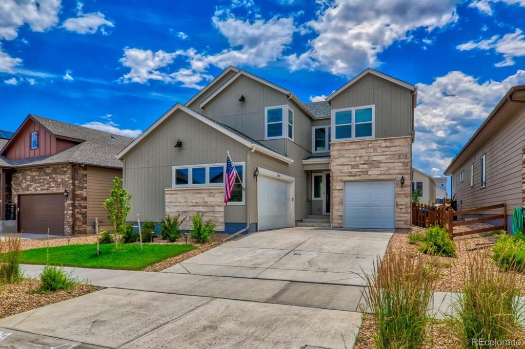 Photo of home for sale at 18856 93rd Avenue W, Arvada CO