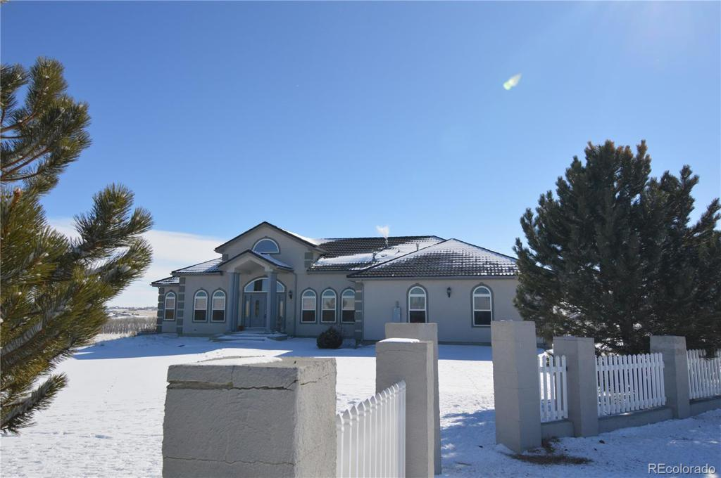 Photo of home for sale at 504 County Road 129 S, Bennett CO