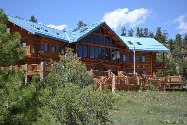 Photo of home for sale at 322 Heavens Heights, Florissant CO