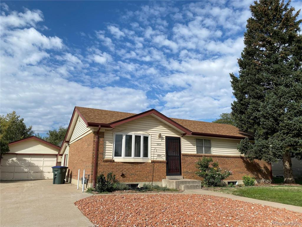 Photo of home for sale at 11439 Irma Drive, Northglenn CO