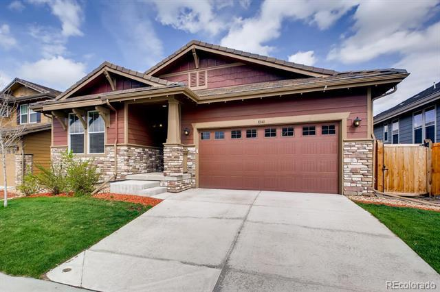 Photo of home for sale at 10140 Nadine Avenue, Parker CO