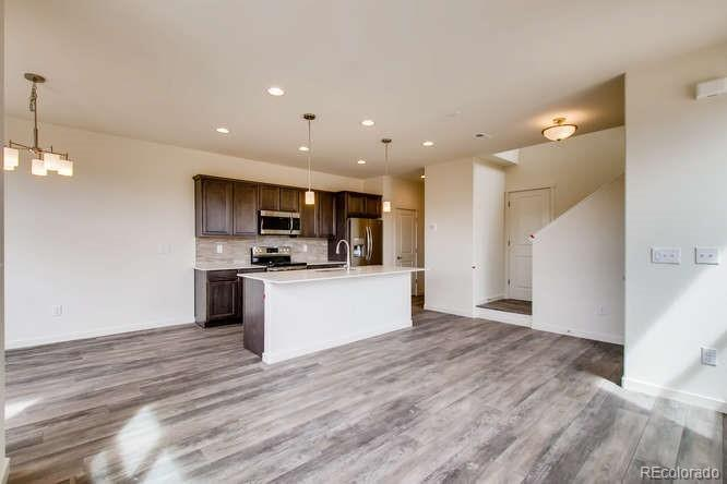 Photo of home for sale at 4246 98th Place E, Thornton CO
