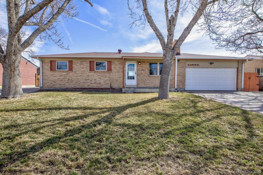 Photo of home for sale at 11684 Claude Court, Northglenn CO