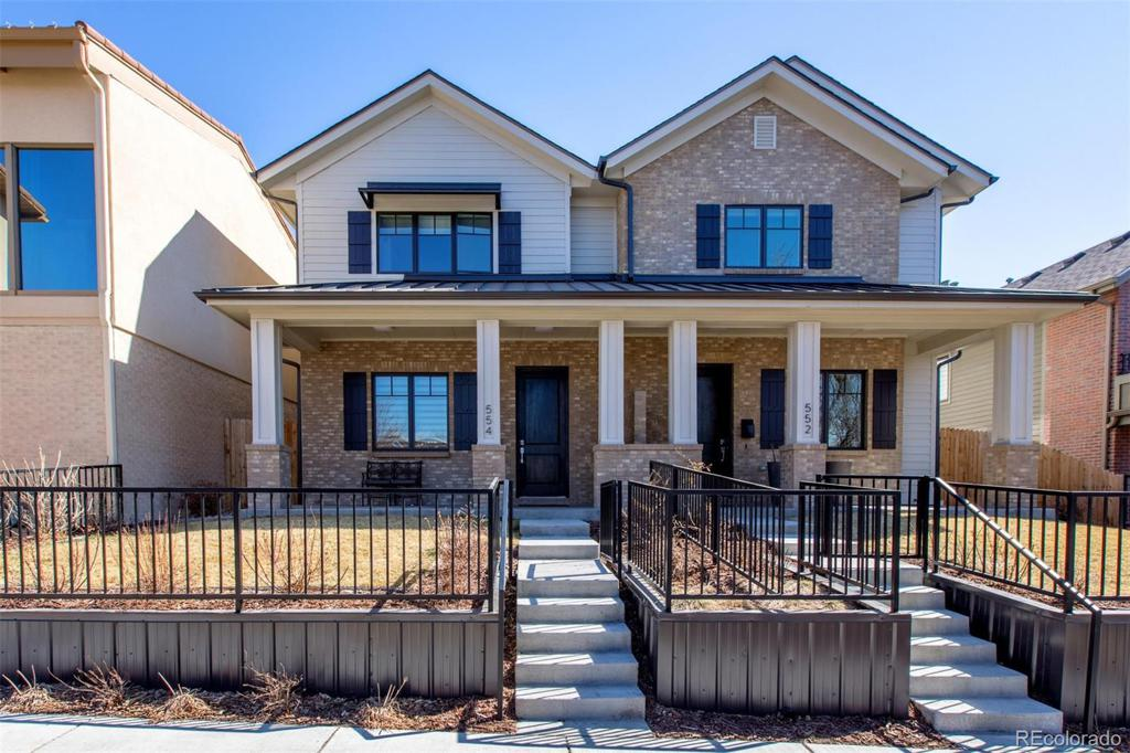 Photo of home for sale at 554 Milwaukee Street, Denver CO
