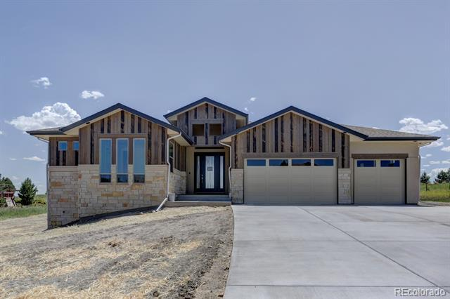 Photo of home for sale at 4646 Sonado Place, Parker CO