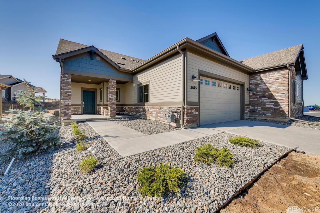 Photo of home for sale at 12609 Tamarac Street, Thornton CO
