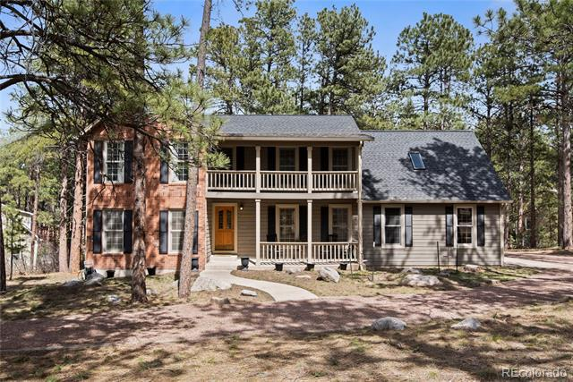 Photo of home for sale at 19965 Top O The Moor Drive E, Monument CO