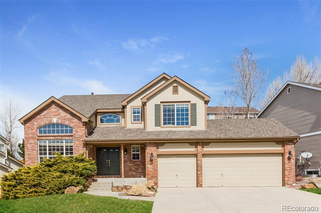 Photo of home for sale at 10805 Vista Road, Parker CO