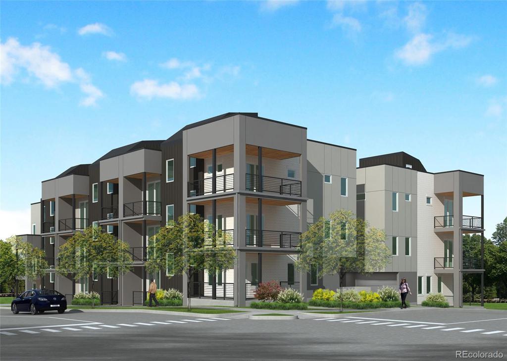 Photo of home for sale at 1290 Osceola N, Denver CO