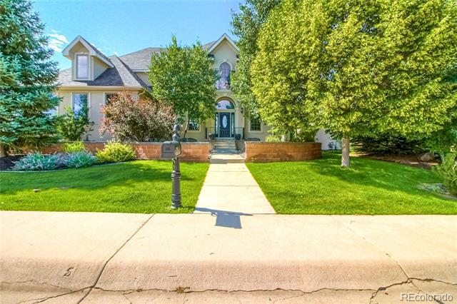 Photo of home for sale at 7702 Plateau Road, Greeley CO