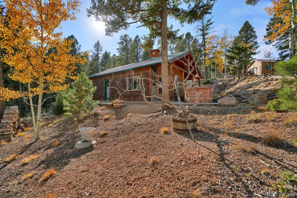 Photo of home for sale at 526 Wakanda Trail, Woodland Park CO