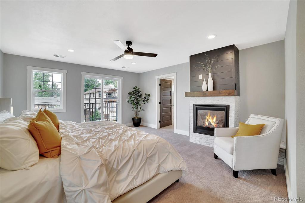 Photo of home for sale at 1362 University Boulevard S, Denver CO