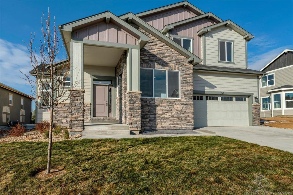 Photo of home for sale at 861 Shirttail Peak Drive, Windsor CO