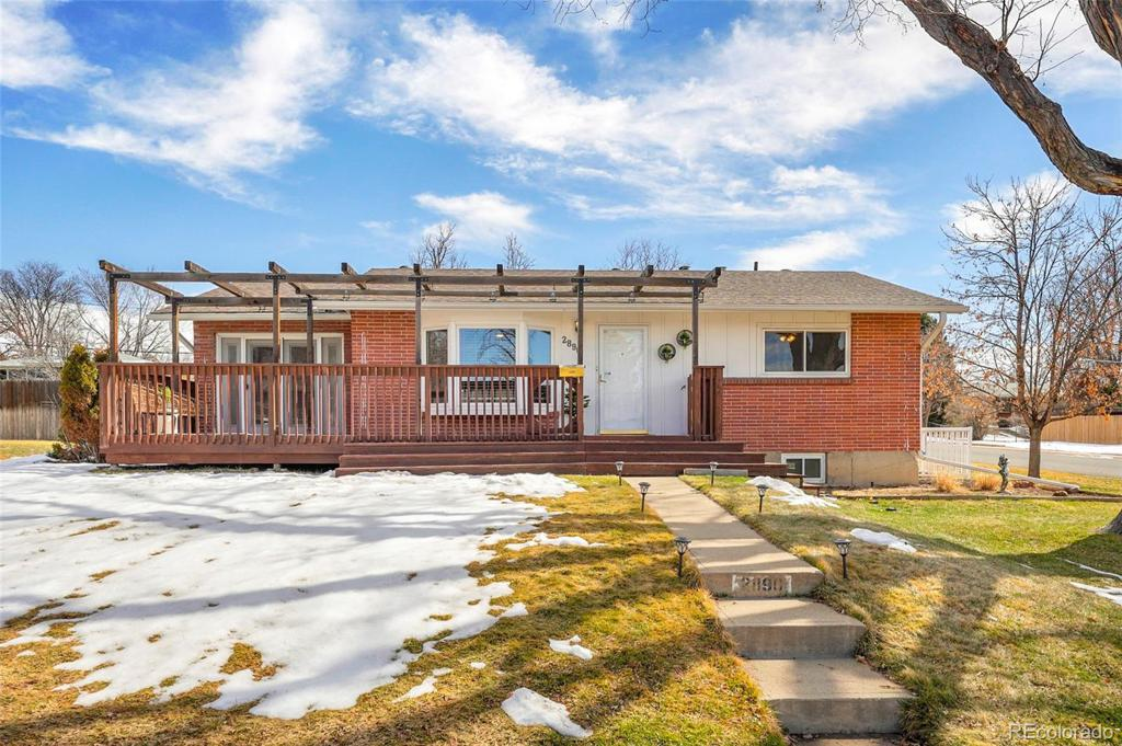 Photo of home for sale at 2890 Perry Street S, Denver CO
