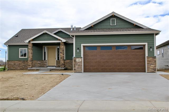 Photo of home for sale at 3498 Saguaro Drive, Loveland CO