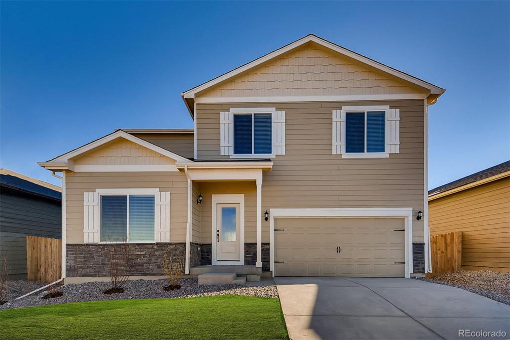 Photo of home for sale at 18031 E 89th Place, Commerce City CO