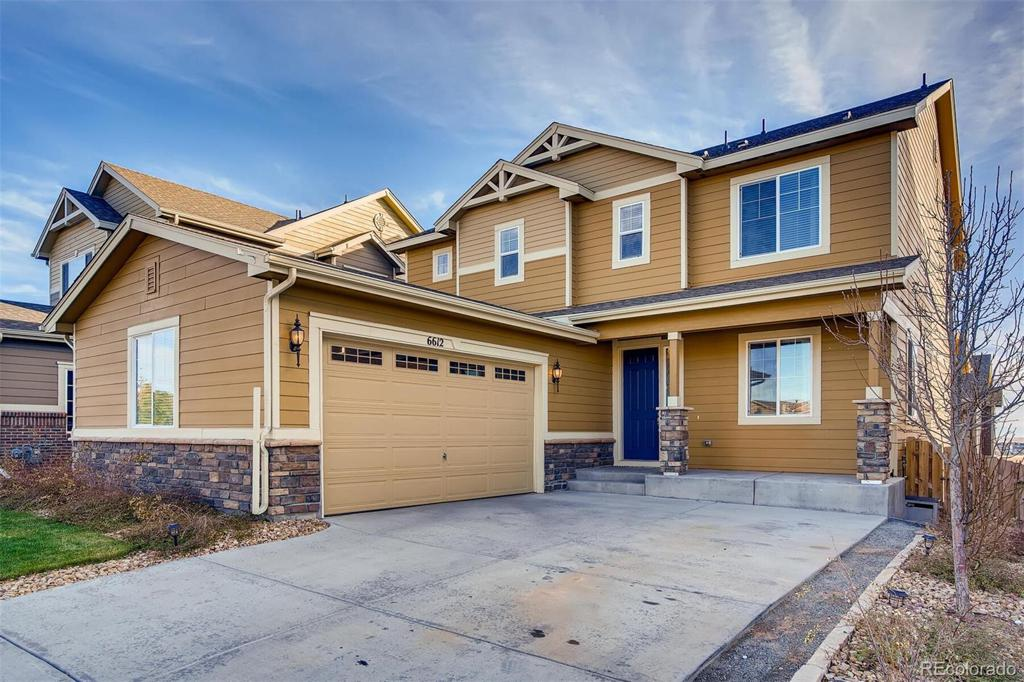 Photo of home for sale at 6612 Muscadine Court S, Aurora CO