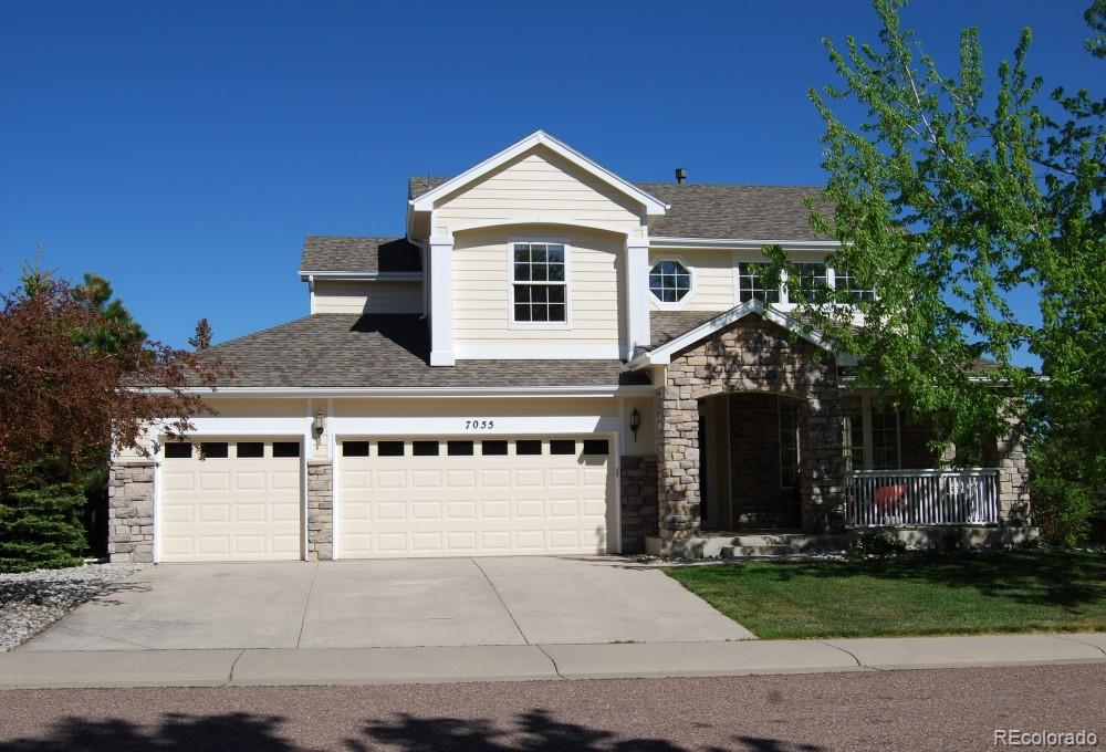 Photo of home for sale at 7055 Welford Place, Castle Pines CO