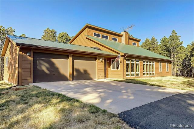 Photo of home for sale at 8580 Wranglers Way, Colorado Springs CO