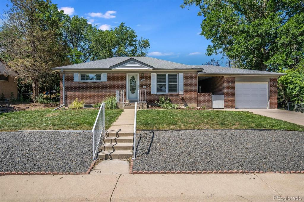 Photo of home for sale at 2107 113th Place E, Northglenn CO