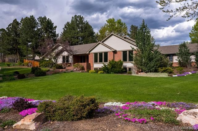 Photo of home for sale at 3940 Hudson Way South, Cherry Hills Village CO