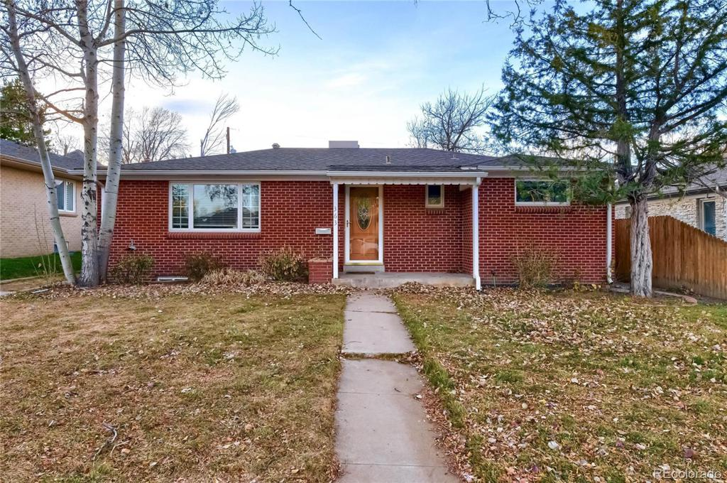 Photo of home for sale at 363 Hudson Street, Denver CO