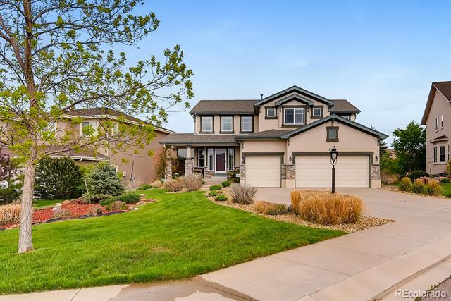 Photo of home for sale at 3272 Silver Pine Trail, Colorado Springs CO