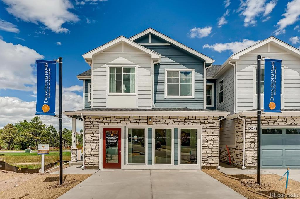 Photo of home for sale at 456 Whisper Wind Lane, Castle Rock CO
