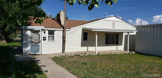 Photo of home for sale at 302 Corona Avenue, Wiggins CO