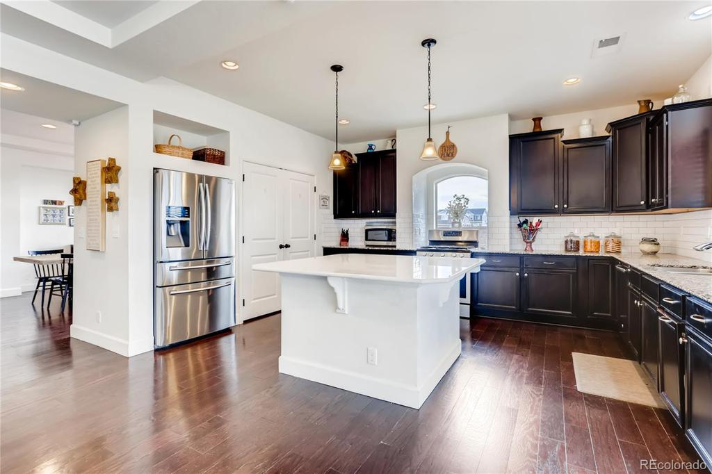 Photo of home for sale at 4807 Dunkirk Street, Denver CO
