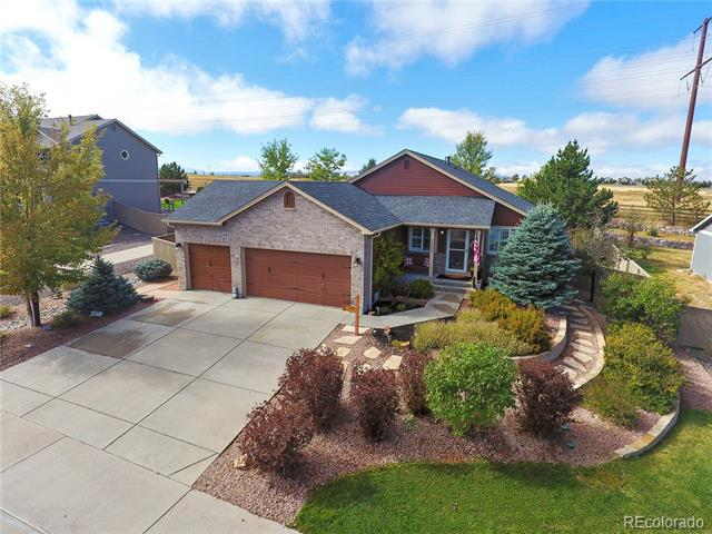 Photo of home for sale at 1503 Rosedale Street, Castle Rock CO