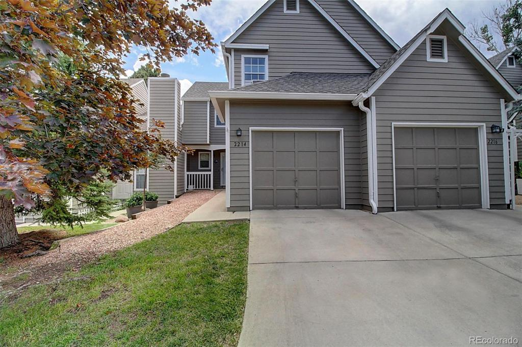 Photo of home for sale at 2214 Palm Drive, Colorado Springs CO
