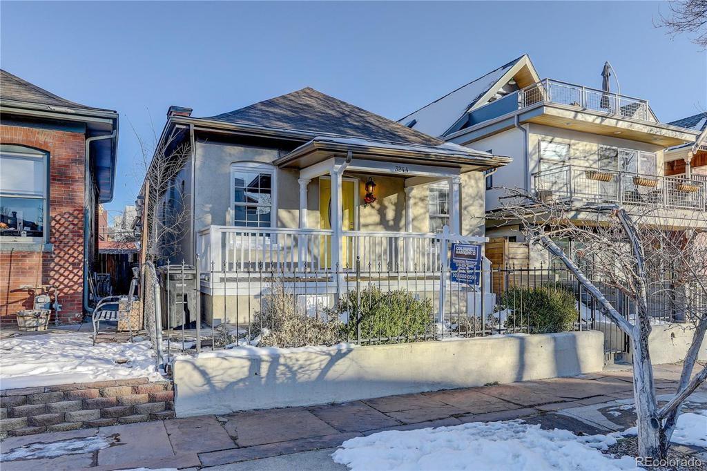 Photo of home for sale at 3244 Vallejo Street, Denver CO