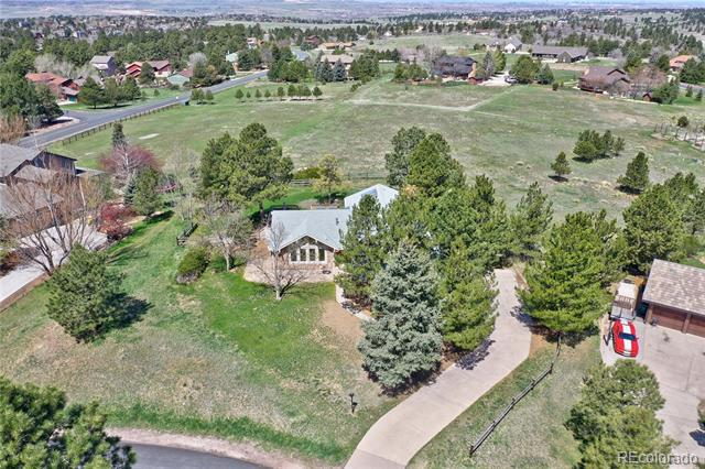 Photo of home for sale at 6264 Belmont Way, Parker CO