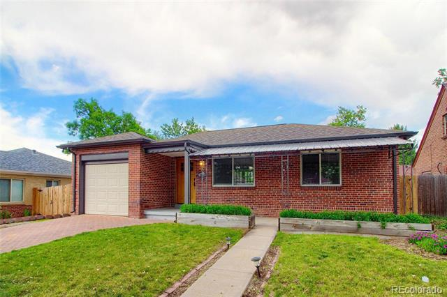Photo of home for sale at 3056 Clermont Street, Denver CO
