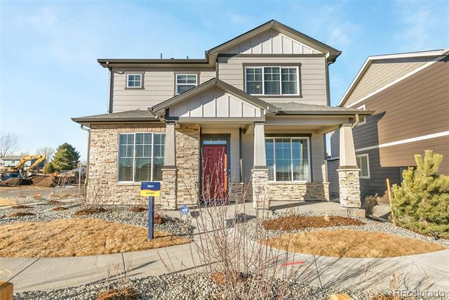 Photo of home for sale at 6682 Longpark Drive, Parker CO