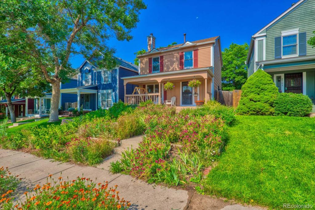 Photo of home for sale at 2695 Osceola Street, Denver CO