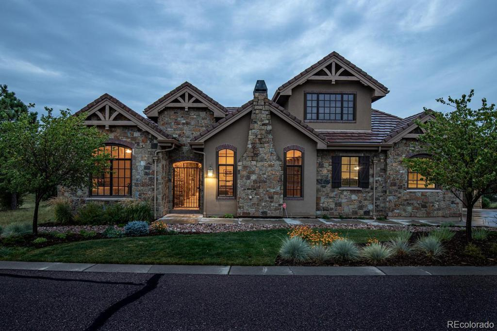 Photo of home for sale at 8749 Eagle Moon Way, Parker CO