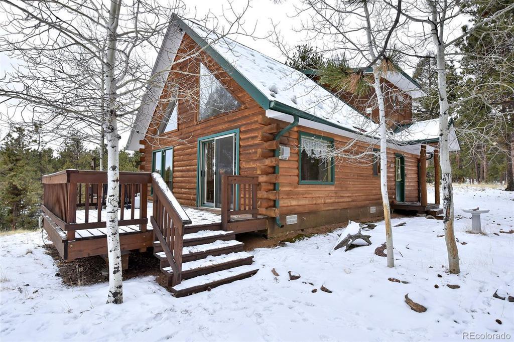 Photo of home for sale at 179 Rainier Drive, Florissant CO