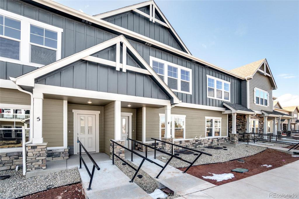 Photo of home for sale at 2444 Ridge Top Drive, Fort Collins CO